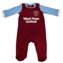 Kojenecké pyžamo West Ham United FC (typ MT) velikost 12-18 měsíců