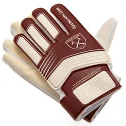 Brankářské rukavice West Ham United FC junior (typ HN) (10-12 let)