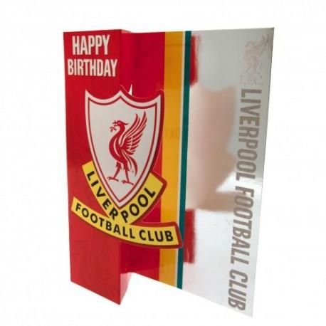 Blahopřání k narozeninám Liverpool FC (typ 18)