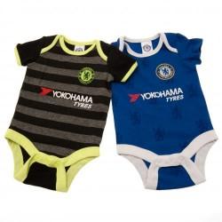 Kojenecké body Chelsea FC (2 ks) (typ LN) velikost 9-12 měsíců