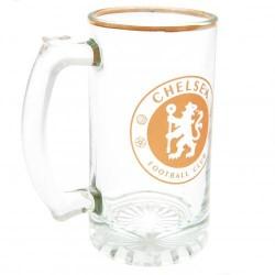 Pivní sklenice s uchem Chelsea FC (typ 18)