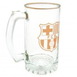 Pivní sklenice s uchem Barceloba FC (typ 18)