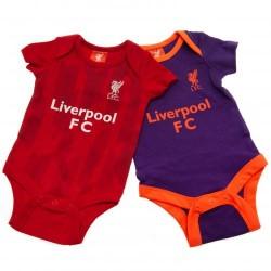 Kojenecké body Liverpool FC (2 ks) (typ PL) velikost 9-12 měsíců
