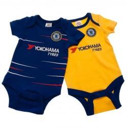 Kojenecké body Chelsea FC (2 ks) (typ TS) velikost 3-6 měsíců