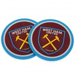 Pivní podtácky West Ham United FC (2ks) (typ 18)