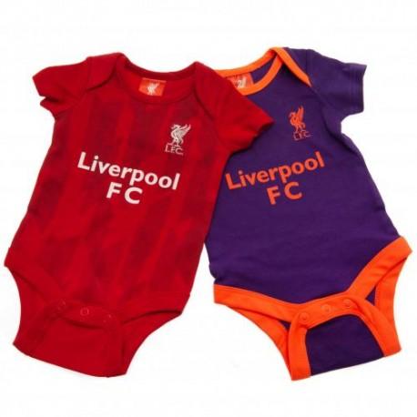 Kojenecké body Liverpool FC (2 ks) (typ PL) velikost 12-18 měsíců