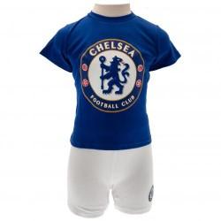 Kojenecké tričko a šortky Chelsea FC (typ CW) velikost 12-18 měsíců