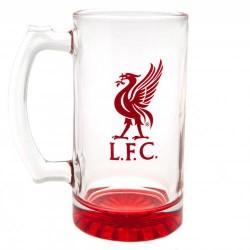 Pivní sklenice s uchem Liverpool FC (typ 19)