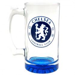 Pivní sklenice s uchem Chelsea FC (typ 19)
