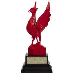 Socha Liverbird na stůl Liverpool FC