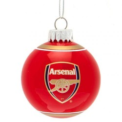 Vánoční ozdoba skleněná koule Arsenal FC (typ 19)