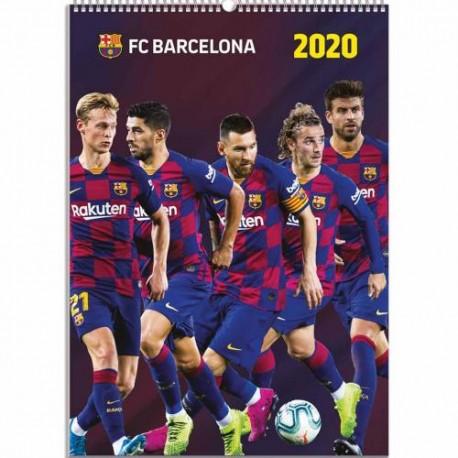 Velký kalendář 2020 Barcelona FC