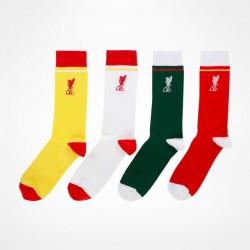 Ponožky Liverpool FC barevné (4 páry)