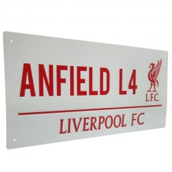 Plechová cedulka Liverpool FC (typ RL)