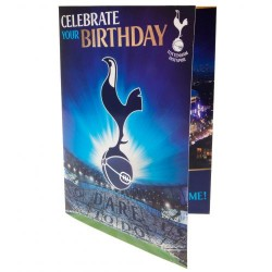Hrací blahopřání k narozeninám Tottenham Hotspur FC (typ 20)