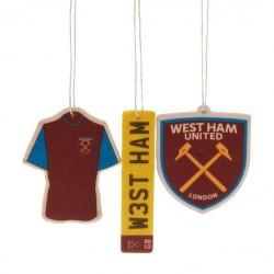 Osvěžovač vzduchu West Ham United FC (typ 19)(3 kusy)