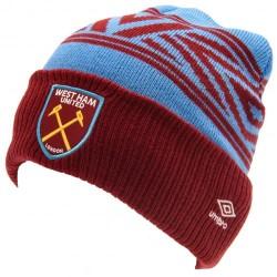 Zimní čepice Umbro West Ham United FC (typ CU)