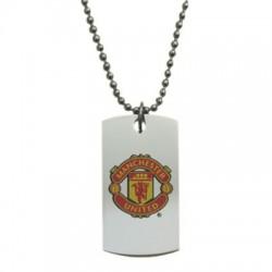 Psí známka barevná s řetízkem Manchester United FC