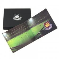 Kožená peněženka West Ham United FC stadion
