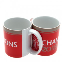 Hrnek Manchester United FC Champions 13