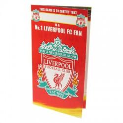 Blahopřání k narozeninám No1 Liverpool FC