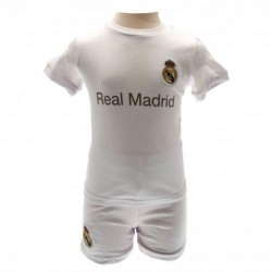 Kojenecké tričko a šortky Real Madrid FC (typ WH) velikost 12-18 měsíců