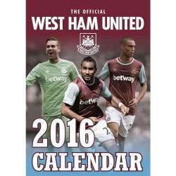 Velký kalendář 2016 West Ham United FC