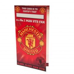 Blahopřání k narozeninám No1 Manchester United FC (typ 15)