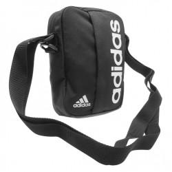 Taštička přes rameno Adidas Essential Organizer 40 černá s bílou
