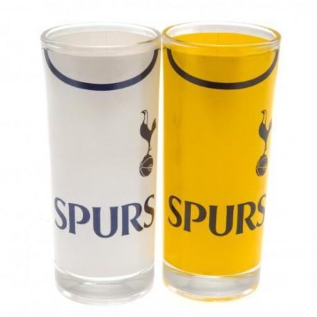 Sada 2 koktejlových skleniček Tottenham Hotspur FC